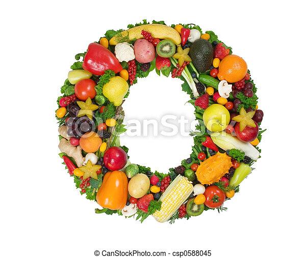 Alphabet of Health - csp0588045