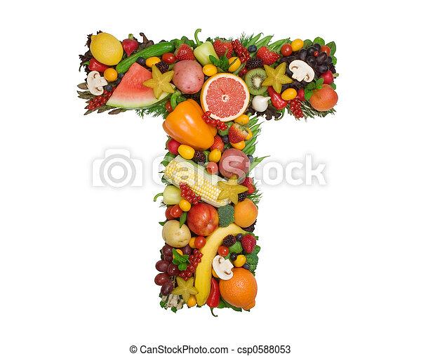 Alphabet of Health - csp0588053