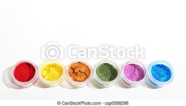 Rainbow Shadow Pots - csp0588298