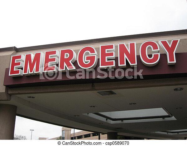 Emergency Enterance - csp0589070