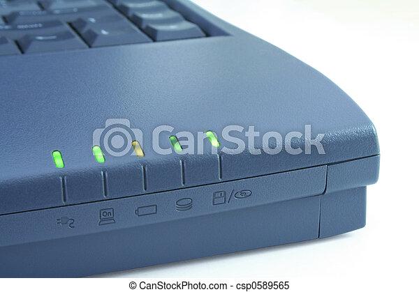 Laptop function indicators - csp0589565