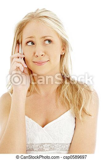 Plaatje van telefoon tiener meisje verwonderd verwonderd tiener csp0589697 zoek naar - Tiener meisje foto ...