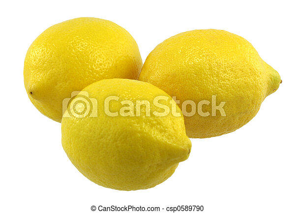 Three Lemons - csp0589790