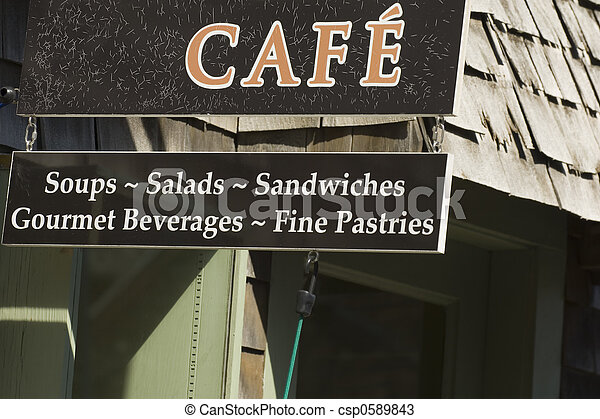 New England Cafe - csp0589843
