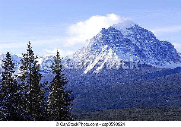 Mountain landscape - csp0590924