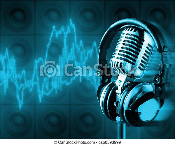 xxl), energi, (+clipping, musik, bana - csp0593999