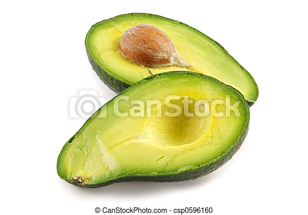 Avocado-oily nutritious fruit - csp0596160