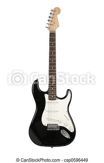 Electric guitar (Fender Stratocaster) - csp0596449
