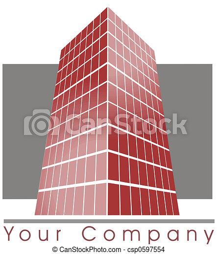 Building logo - csp0597554