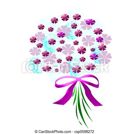 flower bouquet - csp0598272