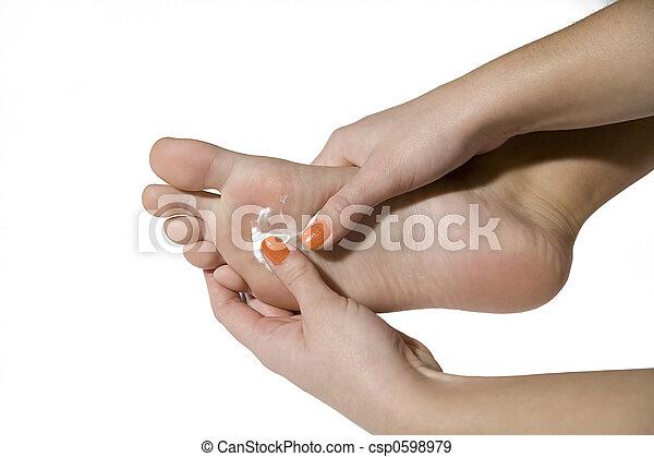 foot care - csp0598979