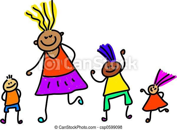 diverse kids - csp0599098