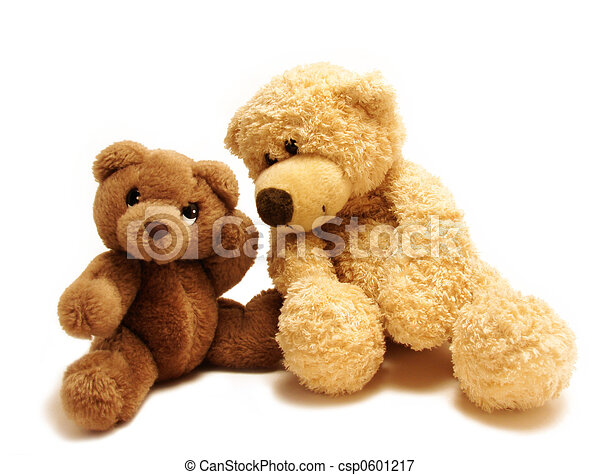 teddy bears friends - csp0601217