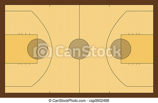 Basketball court - csp0602488