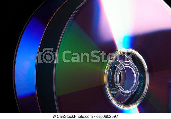 Stack of DVD - csp0602597