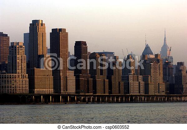 Midtown Manhattan - csp0603552