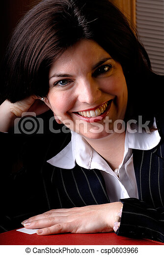Business Woman Portrait - csp0603966