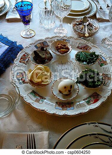 Passover Seder Plate - csp0604250