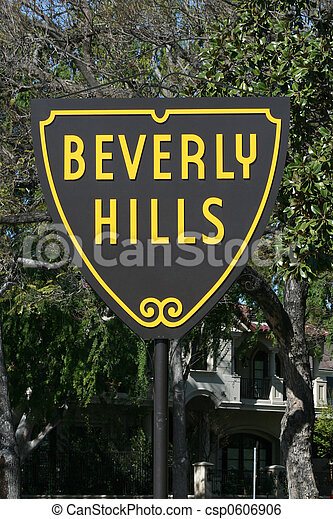 Beverly Hills Sign - csp0606906