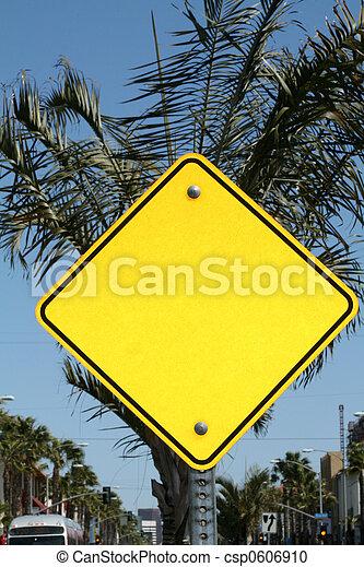 Blank Sign - csp0606910