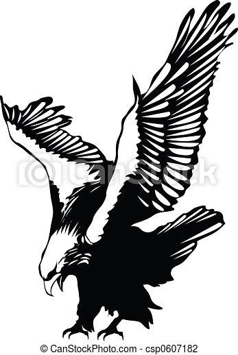 Flying eagle - csp0607182