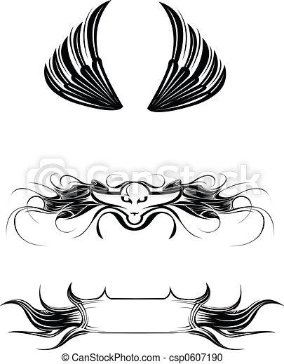 Wings, signs - csp0607190
