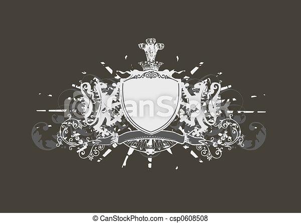 heraldic shield - csp0608508
