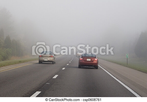 Traveling in fog 3 - csp0608761