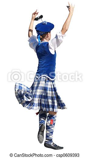 Highland Dancer - csp0609393
