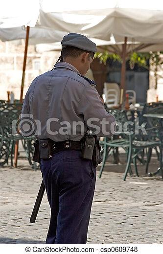 Cuban Police - csp0609748