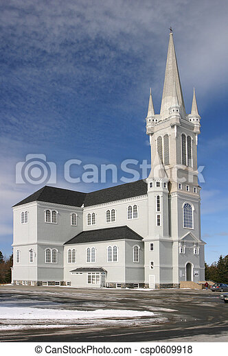 Acadian Church - csp0609918