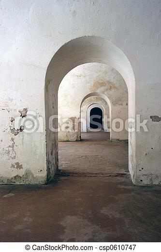 Symmetrical Archways - csp0610747