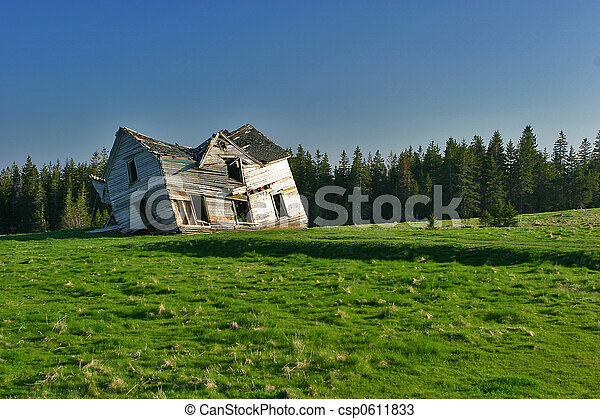 Abandoned home - csp0611833