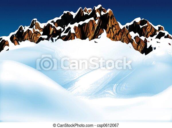 Mountain ridge - csp0612067