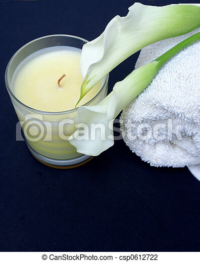 Tranquil Spa Candle - csp0612722