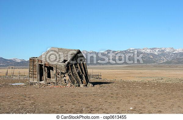 Old abandoned shack - csp0613455