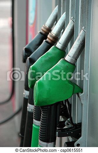 Black & Green distributor nozzle - vertical capture - csp0615551
