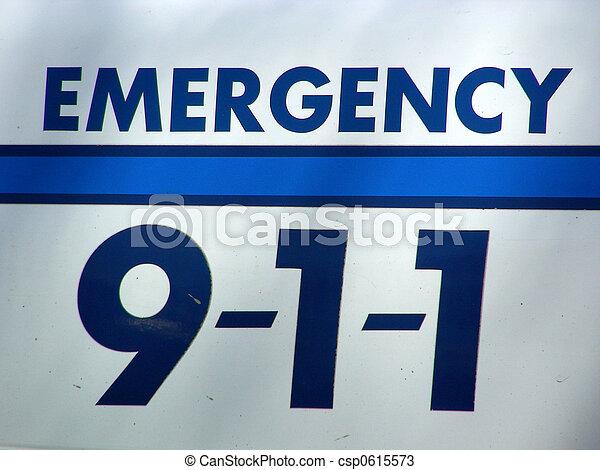 Dial 911 - csp0615573