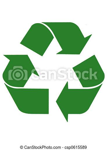 Recycling Arrows - csp0615589