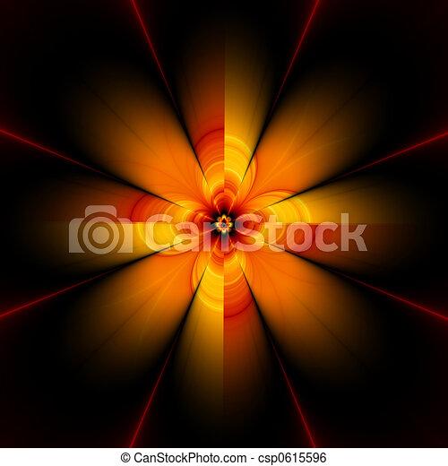 fractal flower, 30H - csp0615596