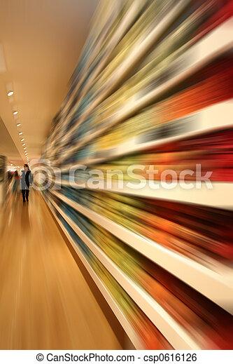 Geschwindigkeit, shoppen - csp0616126
