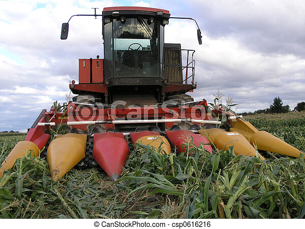 Sweetcorn Harvester - csp0616216