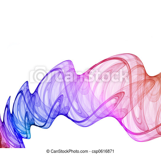 multicolored abstraction - csp0616871