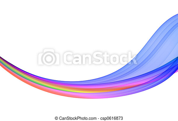 multicolored abstraction  - csp0616873