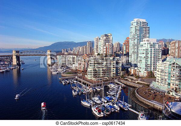 Vancouver Harbour - csp0617434