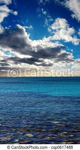 Beach Sunrise - csp0617488