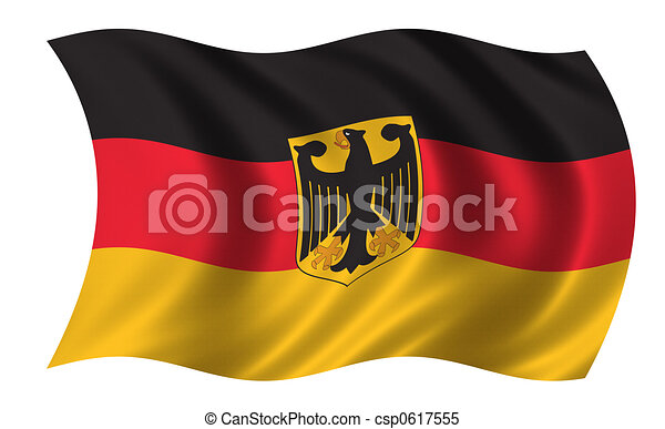 Flag of Germany - csp0617555
