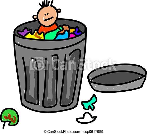 trash kid - csp0617989