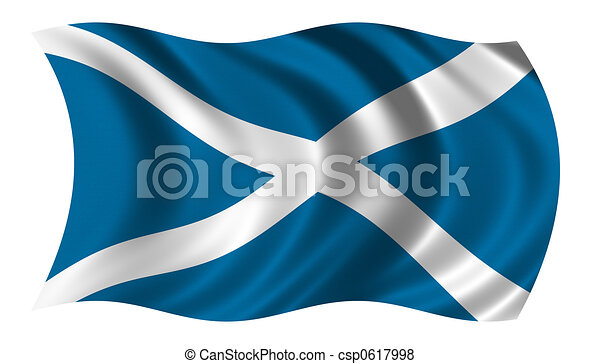 Flag of Scotland - csp0617998