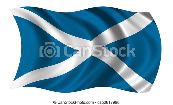 Flag of Scotland - csp0617998